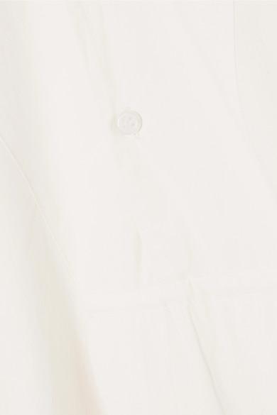 APIECE APART Isli Viola Tunika aus Baumwollpopeline