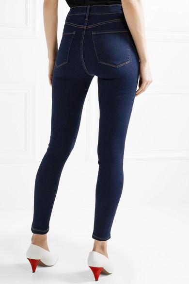 FRAME Ali hoch sitzende Skinny Jeans Günstig Kaufen Modisch Verkauf Mit Kreditkarte gn2DAQ7Y