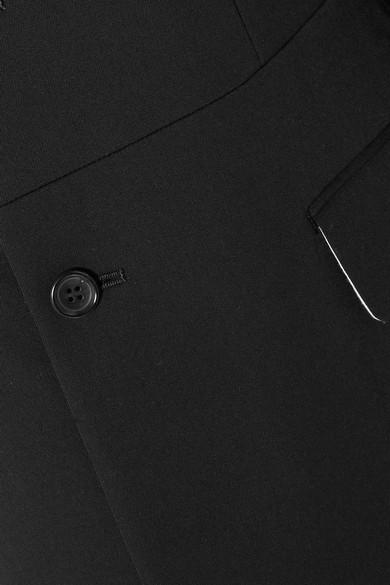 Comme des Garçons Comme des Garçons Asymmetrischer Blazer aus Woll-Twill Spielraum Klassisch UcLLSQJMK
