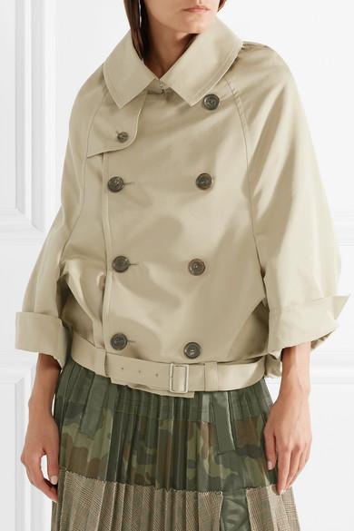 Junya Watanabe Twill-Jacke aus einer Baumwollmischung