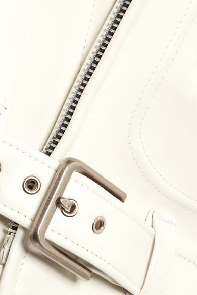 Junya Watanabe + Schott Bikerjacke aus Leder