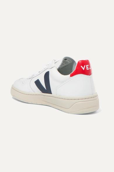 Veja V-10 Sneakers aus Leder