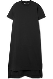 Patri asymmetric cotton-jersey tunic