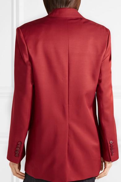 Acne Studios Jaria Oversized-Blazer aus glänzendem Twill