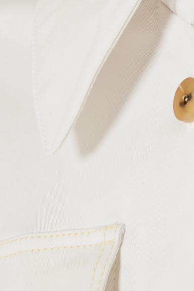Acne Studios Olesia Trenchcoat aus Twill aus einer Baumwollmischung