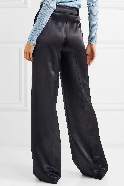 Acne Studios Tamilo satin wide-leg pants