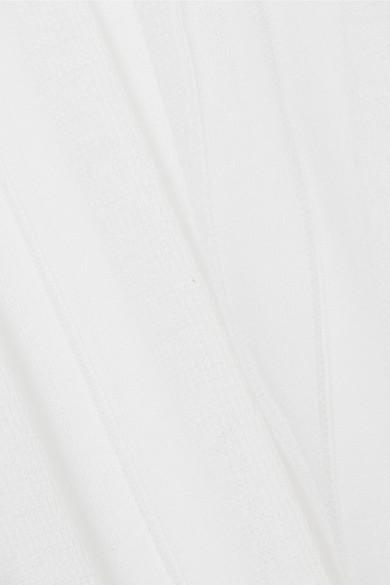 Acne Studios Bennat Oberteil aus einer gerippten Baumwollmischung