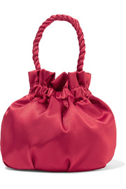 STAUD Grace satin tote