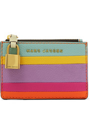 Marc Jacobs Striped leather wallet