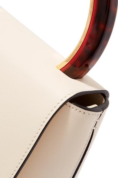Marni Pannier Schultertasche aus Leder