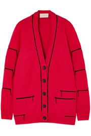 Christopher Kane Zip-embellished cashmere cardigan