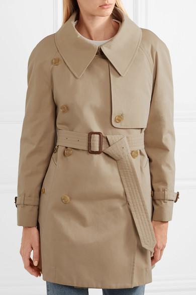 Burberry Fortingall Trenchcoat aus Baumwoll-Gabardine