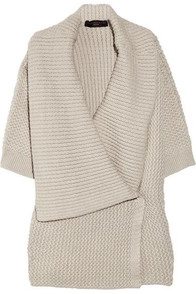 Cheap Sale Ebay Cheap Sale Shop For Oversized chunky-knit cardigan Stella McCartney Buy Cheap Shop Sale Popular Jc8Y1kj8