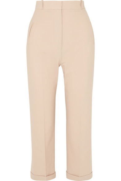 Cropped Woven Straight Leg Pants by Jacquemus