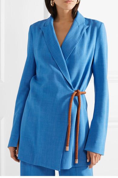 Roksanda Livia gewebter Blazer mit Bindegürtel