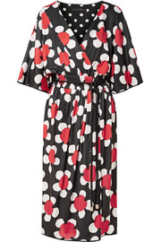 Marc Jacobs Daisley floral-print stretch-jersey midi dress