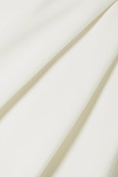 Marc Jacobs Robe aus Crêpe mit Kordelgürtel und asymmetrischer Schulterpartie