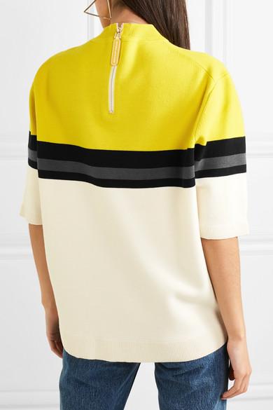 Marc Jacobs Oversized-Wollpullover mit Streifen