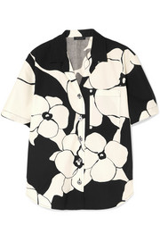 Marc Jacobs Floral-print cotton shirt