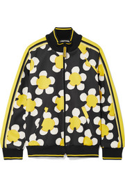 Marc Jacobs Striped printed tech-jersey track jacket
