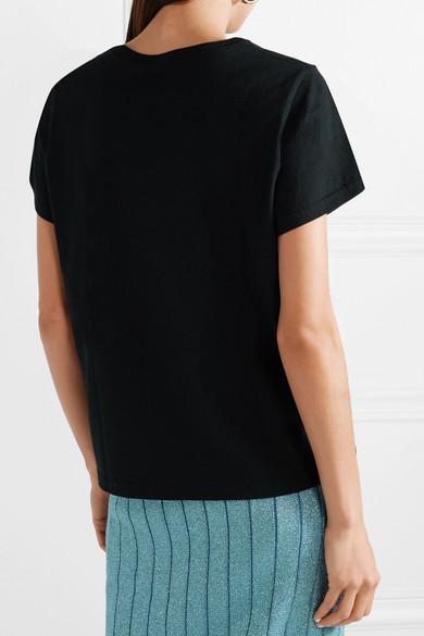 Marc Jacobs Love T-Shirt aus Baumwoll-Jersey mit Print