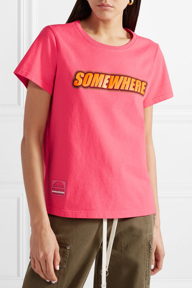 Marc Jacobs Somewhere T-Shirt aus Baumwoll-Jersey mit Print