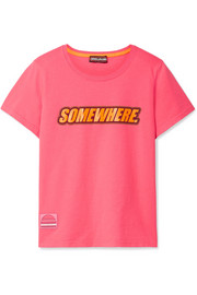 Marc Jacobs Somewhere printed cotton-jersey T-shirt