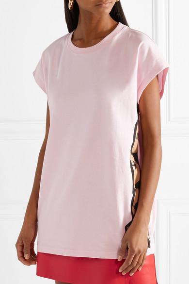 Marc Jacobs Bedrucktes T-Shirt aus Baumwoll-Jersey