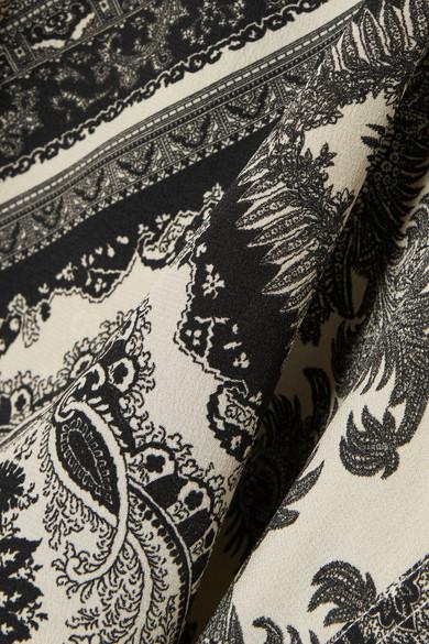 Etro Oversized-Hemd aus bedrucktem Seiden-Georgette
