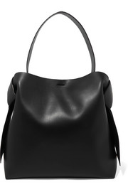 Musubi Maxi knotted leather shoulder bag