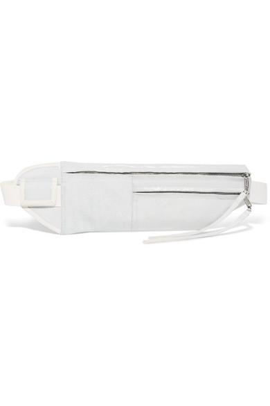 Rick Owens - Coated-denim Belt Bag - White