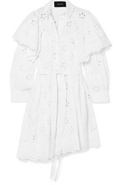 Simone Rocha Layered broderie anglaise cotton dress