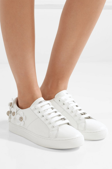 Marc Jacobs Leather Daisy Sneakers e3Kw5U