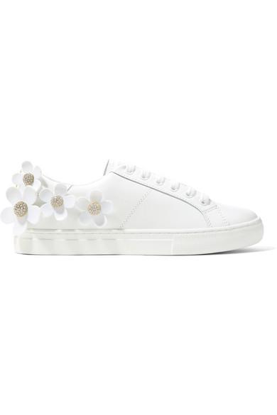 Marc Jacobs Daisy Sneakers aus Leder mit Applikationen