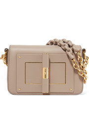 TOM FORD Natalia small textured-leather shoulder bag