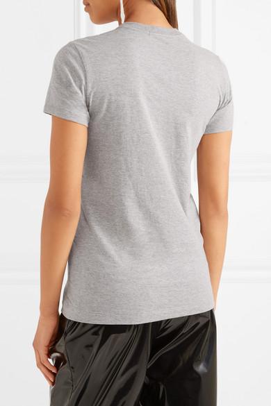 Markus Lupfer Kate T-Shirt aus paillettenverziertem Jersey aus einer Baumwollmischung
