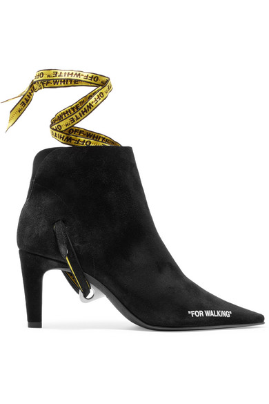 FOR WALKING SUEDE ANKLE BOOTS