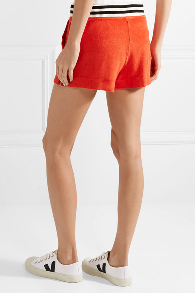 + Margherita Sportivo Striped Cotton And Modal-blend Terry Shorts - Red Splendid 5tjG0CI3fR