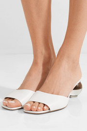 Opus leather mules