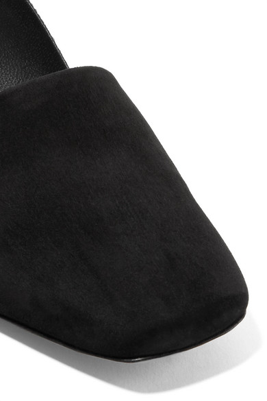 Neous Podium Slingback-Pumps aus Veloursleder und Leder