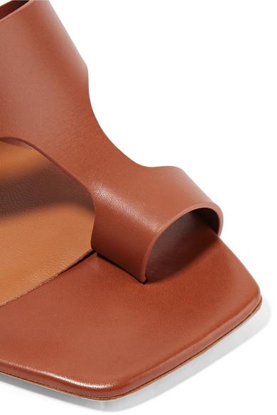 Billig Neueste Neous Anthos Mules aus Leder mit Cut-outs Freies Verschiffen Nicekicks Offizielle Seite WItyO