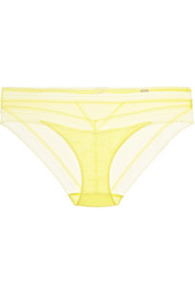 Chantelle Festivité stretch-jersey and lace briefs