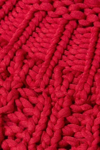 Isabel Marant Zoe Oversized-Rollkragenpullover aus einer Baumwollmischung in Lochstrick