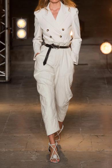 Isabel Marant Doppelreihiger Blazer aus einer Baumwollmischung