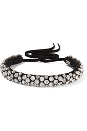 Isabel Marant Suede and crystal choker