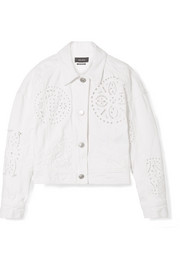 Rena broderie anglaise denim jacket