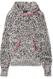Isabel Marant Weldon cotton-blend hooded top