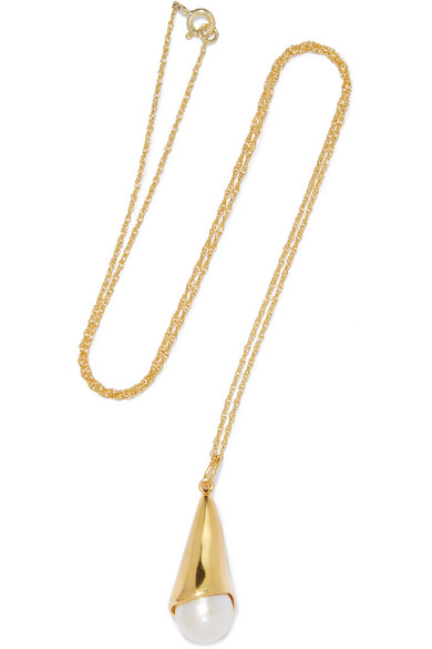 Sophie Buhai - Gold Vermeil Freshwater Pearl Necklace
