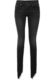 Kate low-rise distressed skinny jeans