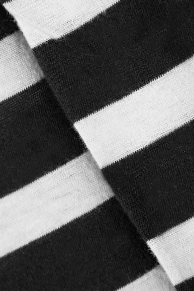 R13 Boy gestreiftes T-Shirt aus einer Baumwoll-Kaschmirmischung Verkaufspreise Wirklich Billig Online Breite Palette Von Online neWANaTg